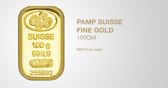 PAMP Suisse 100gm